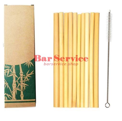 Трубочки бамбуковые 10 шт в Казани
